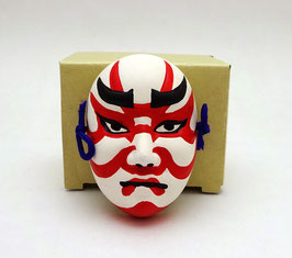 Mini masque Nô :  Kumadori