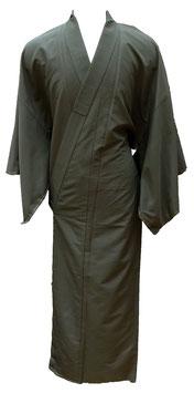 Kimono homme couleur kaki-bronze