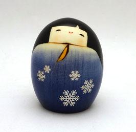 "Kokeshi ""Pays de neige"" (Yukiguni)"