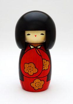 Kokeshi Le Jour que J'aime (rouge)