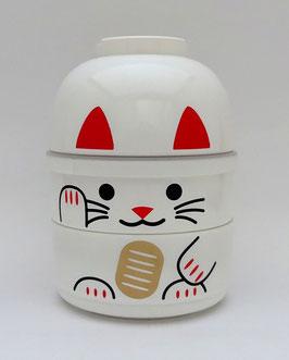 Boîte à bento Maneki-Neko