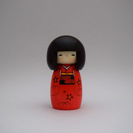 "Kokeshi ""La Petite Rouge"""