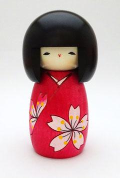 Kokeshi La fleur c'est Sakura !