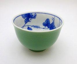 Tasse à thé porcelaine (verte)