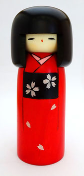 "Kokeshi ""Kimono pour Jour de Fête"""