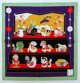 Furoshiki Les Douze Signes du Zodiaque chinois