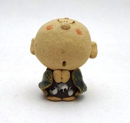 Fuku-maneki jizô, terre cuite