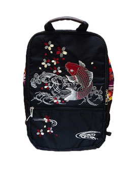 Grand sac à dos Carpe et Sakura