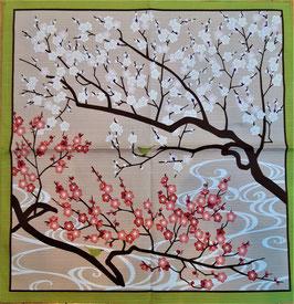 Furoshiki Emergence du printemps