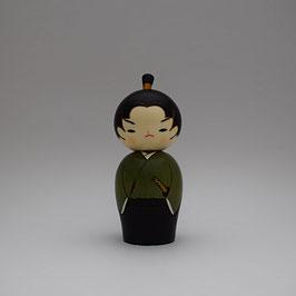 Kokeshi Jeune Samurai