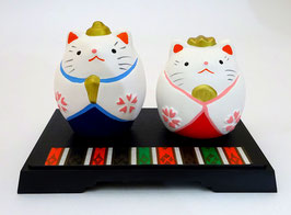 Couple de Maneki-Neko