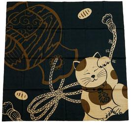 Grand Furoshiki Maneki-neko