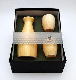 Service à saké Hinoki