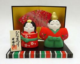 Composition couple impérial Hina matsuri (Oboko)