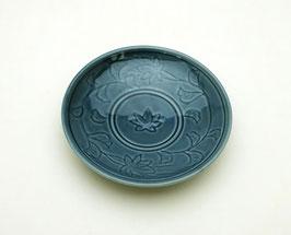 Petite assiette Oribe (bleu)