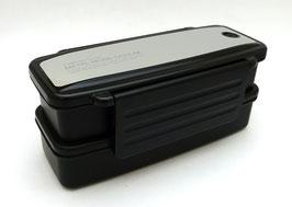 Boîte à bento Metallic Design (noir)