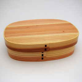 Boîte à Bento traditionnelle Wappa (A)