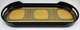 Plateau coffee tray Kodai noir