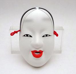 Masque de Nô : Femme (taille intermédiaire)
