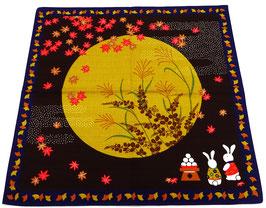 Furoshiki Contemplation des Momiji et du Clair de lune
