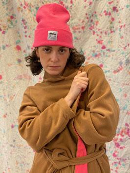 Mantel camel pink