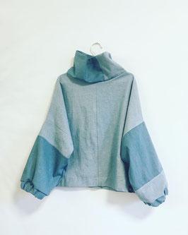 Denim Sweater