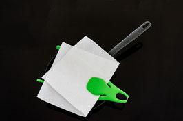 Spritzschutz für Pfannen Octopus grün