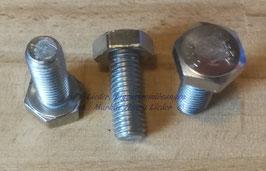 Sechskantschraube M10x25, A2-70, DIN6923-1983, pro Stück