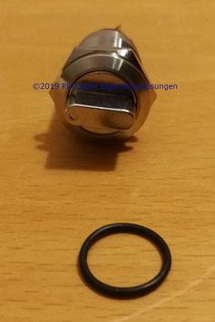 Wahlschalter, Drehschalter für Wallbox mit 3 Positionen 12V 2NO 2NC Durchmesser 19mm