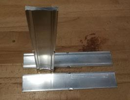 Einschubverbinder für Montageschienen 40x40, pro Stück