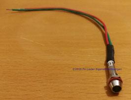 LED zum Einbau - 12V -  grün - Kabellänge 16cm