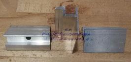 Modulendklemme 30, 35, 38 oder 40mm Modulhöhe, Alu, pro Stück