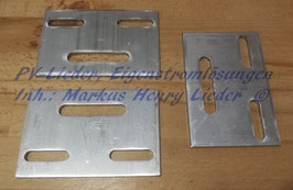 Montageplatte für Kreuzmontage/ Quermontage, Alu, pro Stück