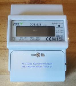 Wechselstromzähler 230V, digital, MID geeicht, NEU, pro Stück