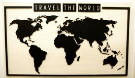 Weltkarte Pinnwand (100 x 60 cm)