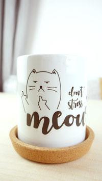 """Tasse """"STRESSLESS CAT"""""""