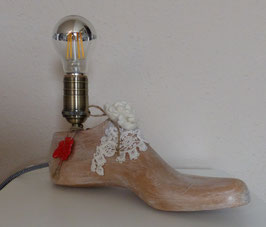 "Designer-Lampe  ""Schuhleiste"""