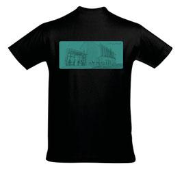 """Herren/Unisex T-Shirt """"Lust auf Zukunft"""" (Zeichnung)"""