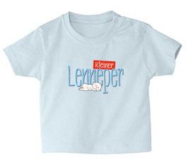 """Babyshirt """"Kleine / r ..."""" hellblau"""