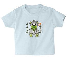 """Baby- / Kindershirt """"Bärgische Freunde"""" hellblau"""
