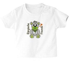 """Baby- / Kindershirt """"Bärgische Freunde"""" weiß"""