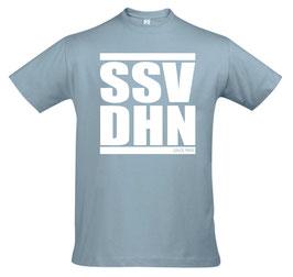 Herren (Unisex) T-Shirt SSV DHN, farbig, Druck 1-farbig weiß