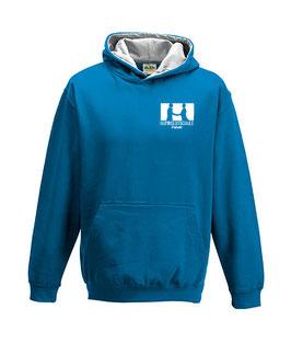 """Hoodie """"Humboldtschule"""", blau"""
