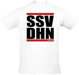 Herren (Unisex) T-Shirt SSV DHN, weiß