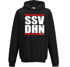 Herren (Unisex) Hoodie SSV DHN, schwarz