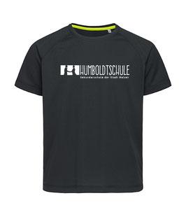 """T-Shirt """"Humboldtschule"""", schwarz"""