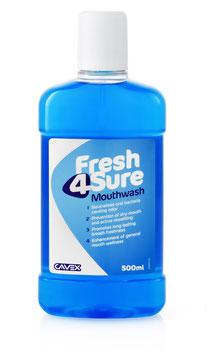Fresh4Sure Mundspülung Nachfüllpackung 500 ml