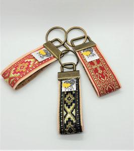 Schlüsselanhänger Orient Gold / 100 % Kork