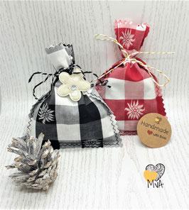 ♥ Geschenkset: 2 Duftsäckchen Lavendel-Zitronengras