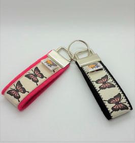 Schlüsselanhänger Schmetterlinge